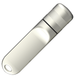 srebrny perłowy